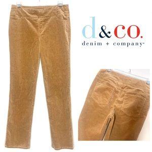 Denim & Co Stretch Corduroy Pull-On Pants